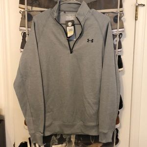 Under Armour Sweaters - Gray men's Under Armour coldgear pullover